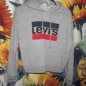 Grey Levi's Sweatshirt